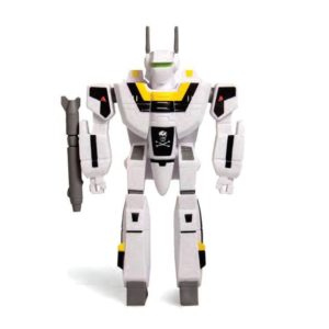 VF-1S FIGURINE - ROBOTECH - RE-ACTION - SUPER7 - 10 CM – 811169030117 – kingdom-figurine.fr