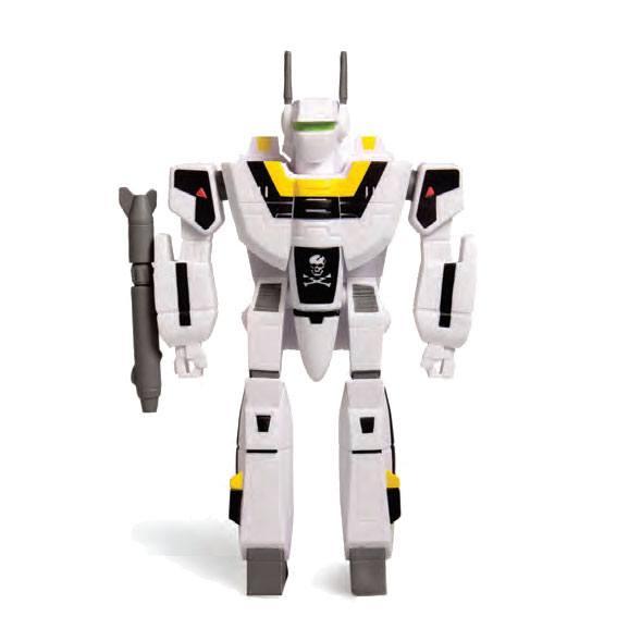 VF-1S FIGURINE - ROBOTECH - RE-ACTION - SUPER7 - 10 CM – 811169030117 – kingdom-figurine.fr