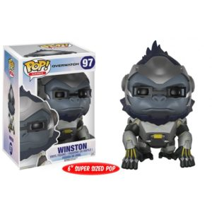 WINSTON FIGURINE - OVERWATCH - OVERSIZED - FUNKO - POP GAMES 97 – 849803093006 – kingdom-figurine.fr