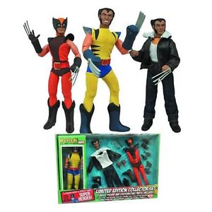 WOLVERINE FIGURINE ARTICULÉE - MARVEL RETRO - COLLECTOR SET - DIAMOND SELECT TOYS -20 CM – 699788179482 – kingdom-figurine.fr