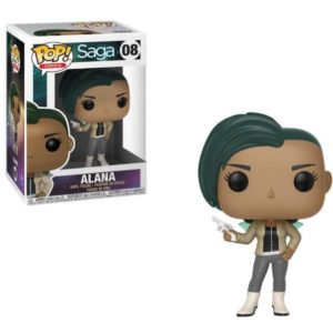 ALANA WITH GUN FIGURINE - SAGA – FUNKO - POP COMICS 08 – 889698274128 – kingdom-figurine.fr