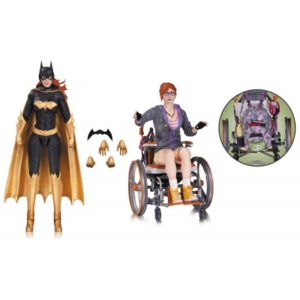 BATGIRL & ORACLE PACK 2 FIGURINES - BATMAN ARKHAM KNIGHT - DC COLLECTIBLES - 17 CM – (1) - 801310109120 – kingdom-figurine.fr