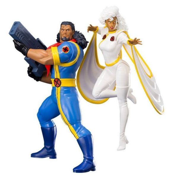 BISHOP & STORM PACK 2 STATUES - ARTFX+ - 1-10 - MARVEL UNIVERSE - X-MEN'92 - KOTOBUKIYA - 20 CM – (1Bis) - 4934054093663 – kingdom-figurine.fr