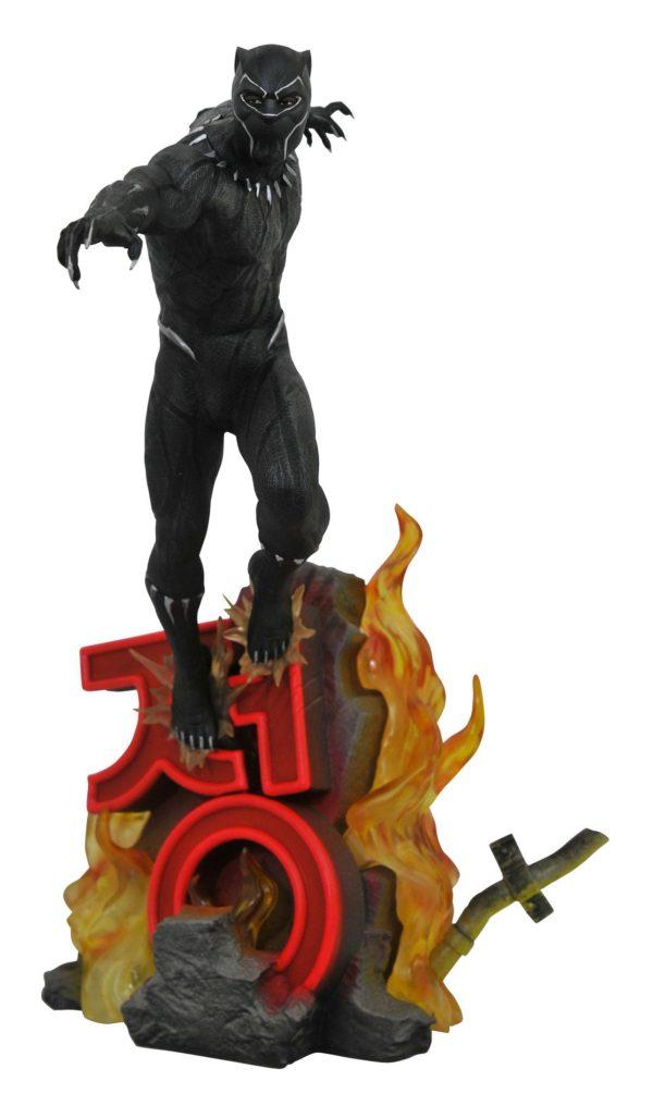 BLACK PANTHER STATUE MARVEL PREMIER MOVIE COLLECTION 40 CM (2) 699788830871 kingdom-figurine.fr