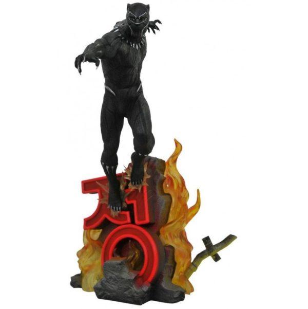 BLACK PANTHER STATUE MARVEL PREMIER MOVIE COLLECTION 40 CM 699788830871 kingdom-figurine.fr