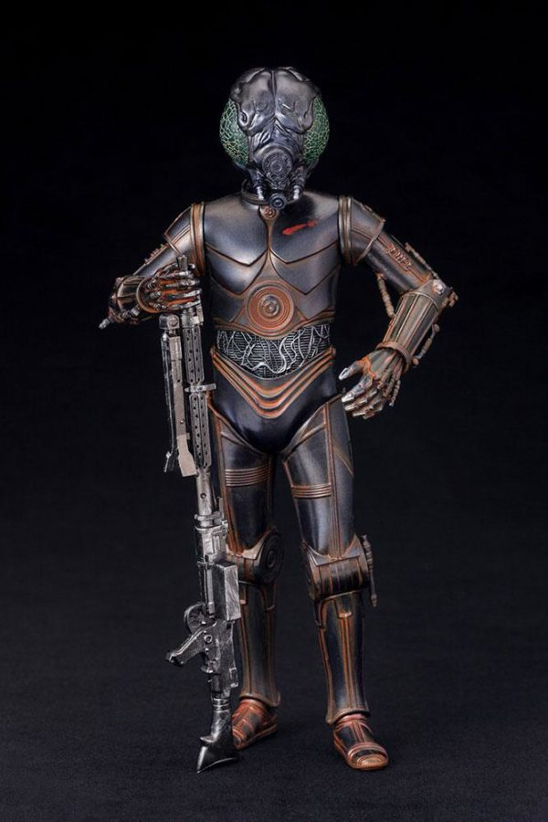 BOUNTY HUNTER 4-LOM STATUE - PVC - ARTFX+ - 1-10 - STAR WARS – KOTOBUKIYA - 17 CM – (2) - 4934054903870 – kingdom-figurine.fr