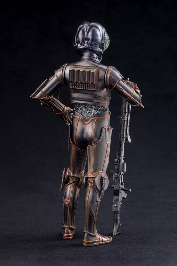 BOUNTY HUNTER 4-LOM STATUE - PVC - ARTFX+ - 1-10 - STAR WARS – KOTOBUKIYA - 17 CM – (5) - 4934054903870 – kingdom-figurine.fr
