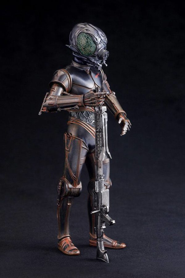 BOUNTY HUNTER 4-LOM STATUE - PVC - ARTFX+ - 1-10 - STAR WARS – KOTOBUKIYA - 17 CM – (7) - 4934054903870 – kingdom-figurine.fr