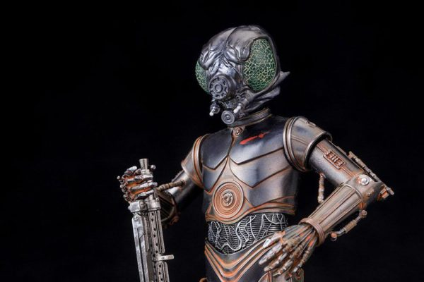 BOUNTY HUNTER 4-LOM STATUE - PVC - ARTFX+ - 1-10 - STAR WARS – KOTOBUKIYA - 17 CM – (9) - 4934054903870 – kingdom-figurine.fr
