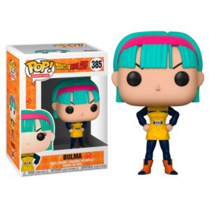BULMA YELLOW SUIT FIGURINE DRAGON BALL Z FUNKO POP ANIMATION 385 - 889698322478 – kingdom-figurine.fr