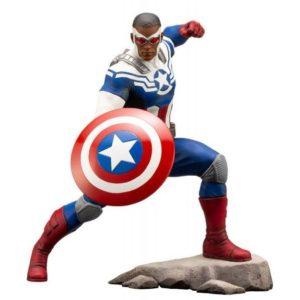 CAPTAIN AMERICA (SAM WILSON) STATUE - ARTFX+ - 1-10 - MARVEL COMICS - KOTOBUKIYA - 19 CM – () - 190526012448 – kingdom-figurine.fr