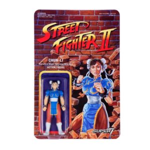 CHUN-LI FIGURINE STREET FIGHTER II WAVE 1 RE-ACTION SUPER7 605930564389 kingdom-figurine.fr