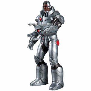 CYBORG FIGURINE - DC COMICS - THE NEW 52 - DC COLLECTIBLES - 17 CM – (1Bis) - 761941308487 – kingdom-figurine.fr