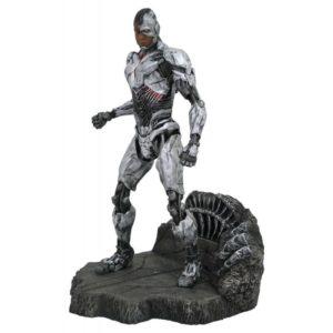CYBORG STATUE - DC MOVIE GALLERY - DIAMOND SELECT TOYS - 23 CM – (1) - 699788827390 – kingdom-figurine.fr