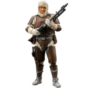 DENGAR BOUNTY HUNTER STATUE - ARTFX+ - 1-10 - STAR WARS - KOTOBUKIYA - 19 CM – (1) - 4934054903849 – kingdom-figurine.fr