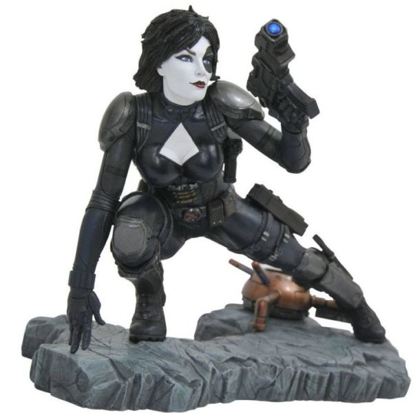 DOMINO STATUE MARVEL COMIC PREMIER COLLECTION DIAMOND SELECT 21 CM (0) 699788828878 kingdom-figurine.fr