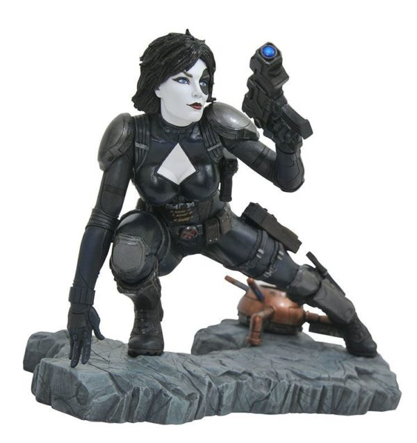 DOMINO STATUE MARVEL COMIC PREMIER COLLECTION DIAMOND SELECT 21 CM (1) 699788828878 kingdom-figurine.fr