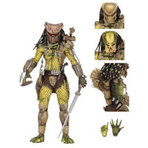 ELDER PREDATOR ULTIMATE FIGURINE - PREDATOR 1718 - NECA - 21 CM – (1) - 634482515730 – kingdom-figurine.fr
