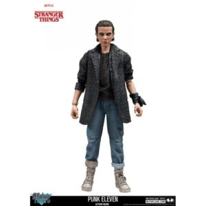 ELEVEN PUNK FIGURINE STRANGER THINGS - McFARLANE TOYS - 15 CM – 787926130300 – kingdom-figurine.fr