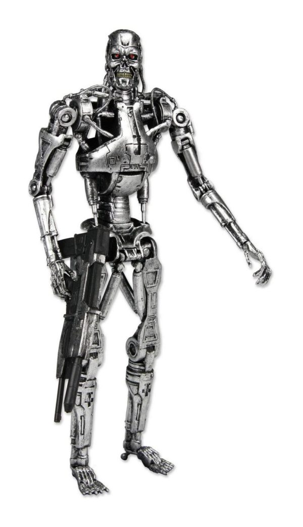 ENDOSKELETON FIGURINE - TERMINATOR - NECA - 18 CM – (1Bis) - 634482398593 – kingdom-figurine.fr