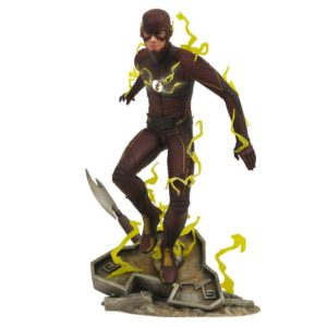 FLASH STATUE - DC TV SERIES GALLERY - DIAMOND SELECT TOYS - 23 CM – 699788828427 – kingdom-figurine.fr