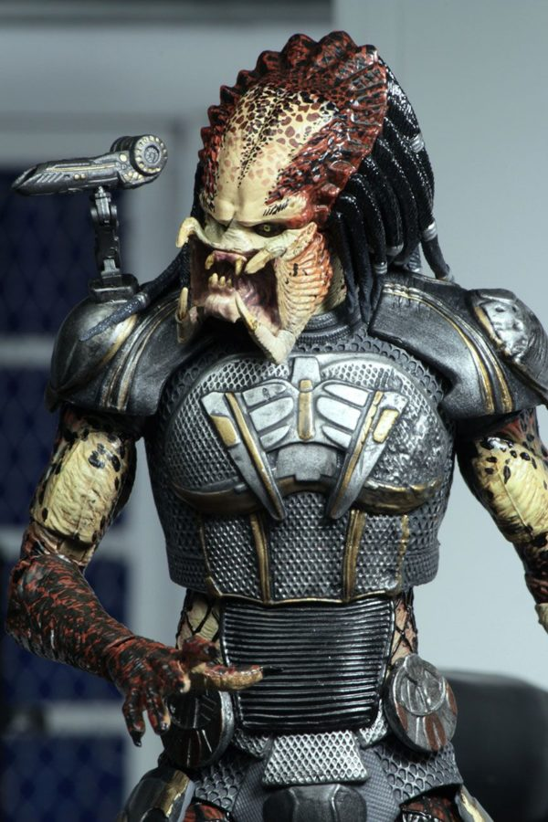 FUGITIVE PREDATOR ULTIMATE FIGURINE - PREDATOR 2018 - NECA - 20 CM – (6) - 634482515723 – kingdom-figurine.fr