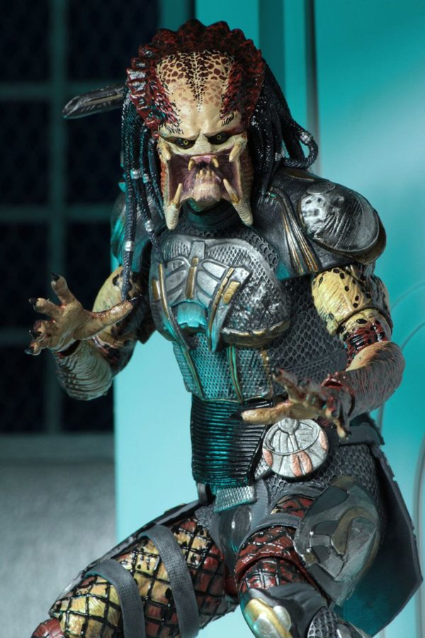 FUGITIVE PREDATOR ULTIMATE FIGURINE - PREDATOR 2018 - NECA - 20 CM – (7) - 634482515723 – kingdom-figurine.fr
