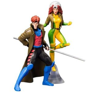 GAMBIT & ROGUE PACK 2 STATUES - ARTFX+ - 1-10 - MARVEL UNIVERSE - X-MEN'92 - KOTOBUKIYA - 19 CM – (1) - 4934054006236 – kingdom-figurine.fr