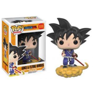 GOKU & FLYING NIMBUS FIGURINE DRAGON BALL Z FUNKO POP ANIMATION 109 – 849803074272 – kingdom-figurine.fr