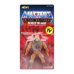 HE-MAN ROBOT FIGURINE - MOTU - VINTAGE COLLECTION - SUPER7 - 14 CM – (2) - kingdom-figurine.fr