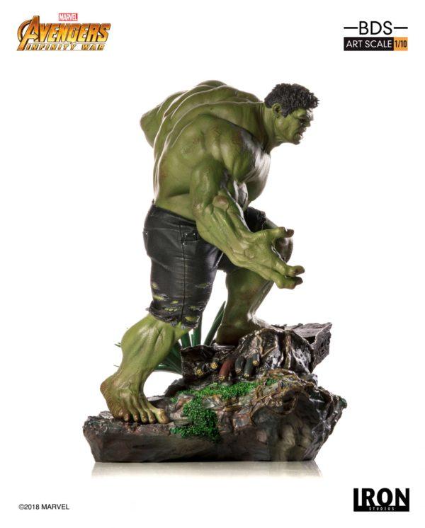 HULK STATUE - 1-10 - AVENGERS INFINTY WAR - BDS ART SCALE - IRON STUDIOS - 25 CM – (2) - 751320773289 – kingdom-figurine.fr