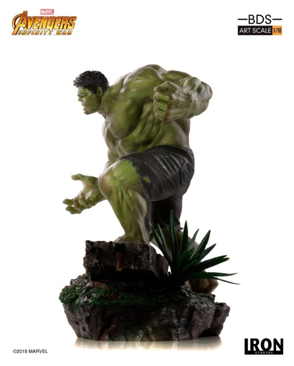 HULK STATUE - 1-10 - AVENGERS INFINTY WAR - BDS ART SCALE - IRON STUDIOS - 25 CM – (4) - 751320773289 – kingdom-figurine.fr