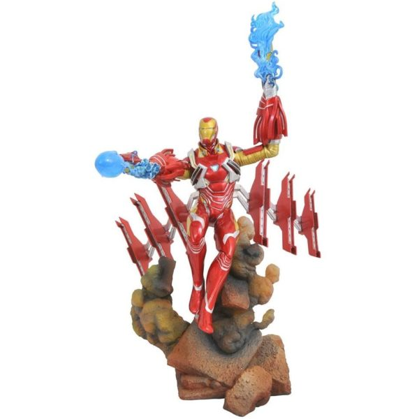 IRON MAN MK50 STATUE AVENGERS INFINTY WAR MARVEL GALLERY DIAMOND SELECT TOYS 23 CM (1) 699788828601 kingdom-figurine.fr