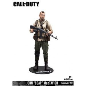 JOAN (SOAP) MACTAVISH FIGURINE - CALL OF DUTY - Mc FARLANE TOYS - 18 CM – (1Bis) - 787926104028 – kingdom-figurine.fr