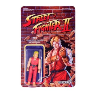 KEN FIGURINE STREET FIGHTER II WAVE 1 RE-ACTION SUPER7 605930564372 kingdom-figurine.fr
