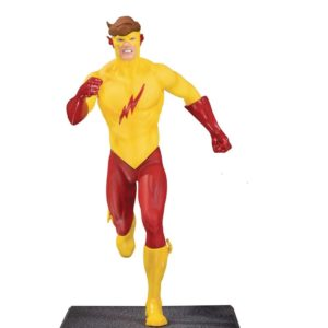KID FLASH STATUETTE - TEEN TITANS - DC COLLECTIBLES - 16 CM – (0) - 761941354309 – kingdom-figurine.fr