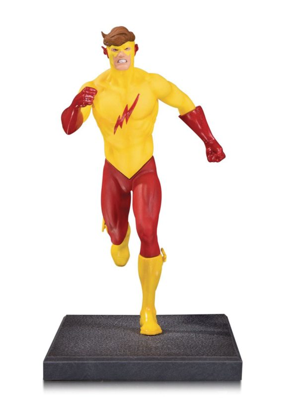 KID FLASH STATUETTE - TEEN TITANS - DC COLLECTIBLES - 16 CM – (1Bis) - 761941354309 – kingdom-figurine.fr