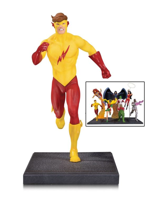 KID FLASH STATUETTE - TEEN TITANS - DC COLLECTIBLES - 16 CM – (3) - 761941354309 – kingdom-figurine.fr