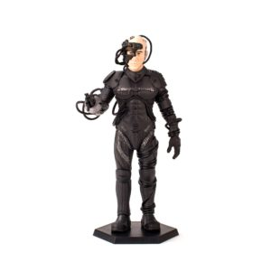 LOCUTUS OF BORG FIGURINE - STAR TREK TNG - LATINUM EDITION - Qm - 15 CM – (0) - 812095024003 – kingdom-figurine.fr