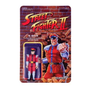 M. BISON FIGURINE STREET FIGHTER II WAVE 1 RE-ACTION SUPER7 605930564396 kingdom-figurine.fr