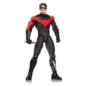 NIGHTWING FIGURINE - BY GREG CAPULO - DESIGNER SERIES - DC COLLECTIBLES - 17 CM – (1) - 761941319544 – kingdom-figurine.fr
