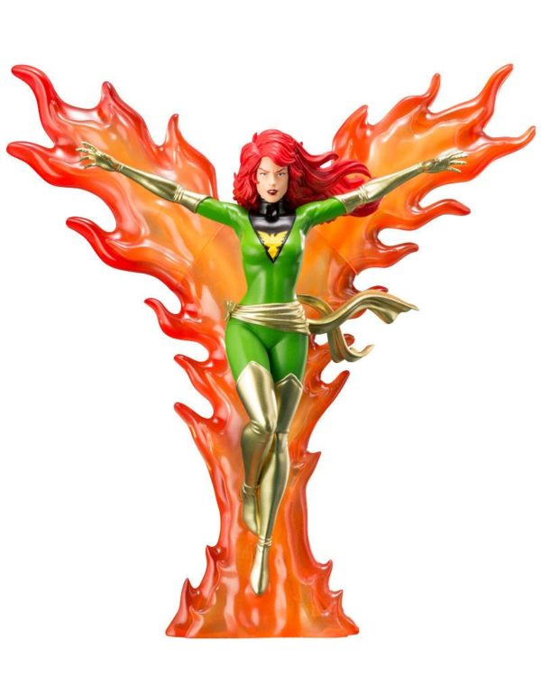 PHOENIX FURIOUS POWER STATUE - ARTFX+ - 1-10 - MARVEL UNIVERSE - X-MEN '92 - KOTOBUKIYA - 24 CM – (1Bis) - 4934054093670 – kingdom-figurine.fr