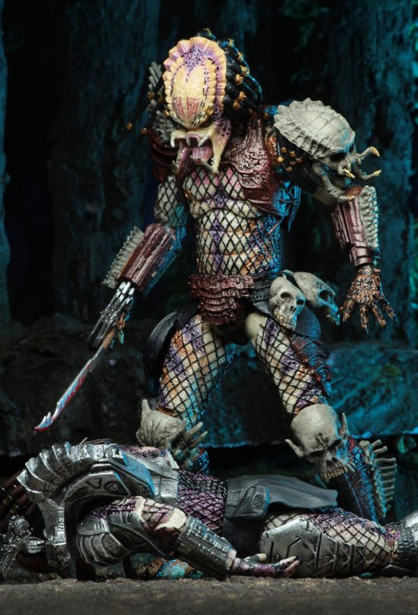 PREDATOR BAD BLOOD & ENFORCER PACK 2 FIGURINES ULTIMATE - NECA - 20 CM – (2) - 634482515709 – kingdom-figurine.fr