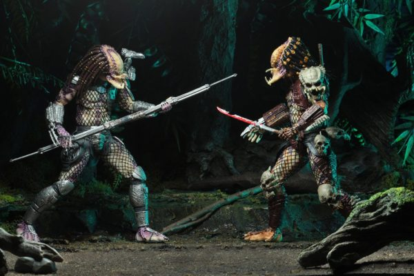 PREDATOR BAD BLOOD & ENFORCER PACK 2 FIGURINES ULTIMATE - NECA - 20 CM – (3) - 634482515709 – kingdom-figurine.fr