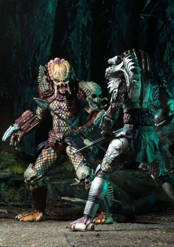 PREDATOR BAD BLOOD & ENFORCER PACK 2 FIGURINES ULTIMATE - NECA - 20 CM – (5) - 634482515709 – kingdom-figurine.fr