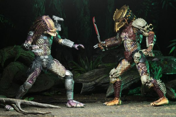 PREDATOR BAD BLOOD & ENFORCER PACK 2 FIGURINES ULTIMATE - NECA - 20 CM – (7) - 634482515709 – kingdom-figurine.fr