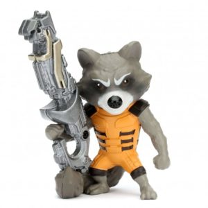 ROCKET RACCOON FIGURINE - LES GARDIENS DE LA GALAXIE - JADA - METALS DIE CAST M134 – (1Bis) - 801310979662 – kingdom-figurine.fr