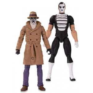 RORSCHACH & MIME FIGURINES - PACK DOOMSDAY CLOCK - DC COLLECTIBLES - 18 CM – (1) - 761941353814 – kingdom-figurine.fr