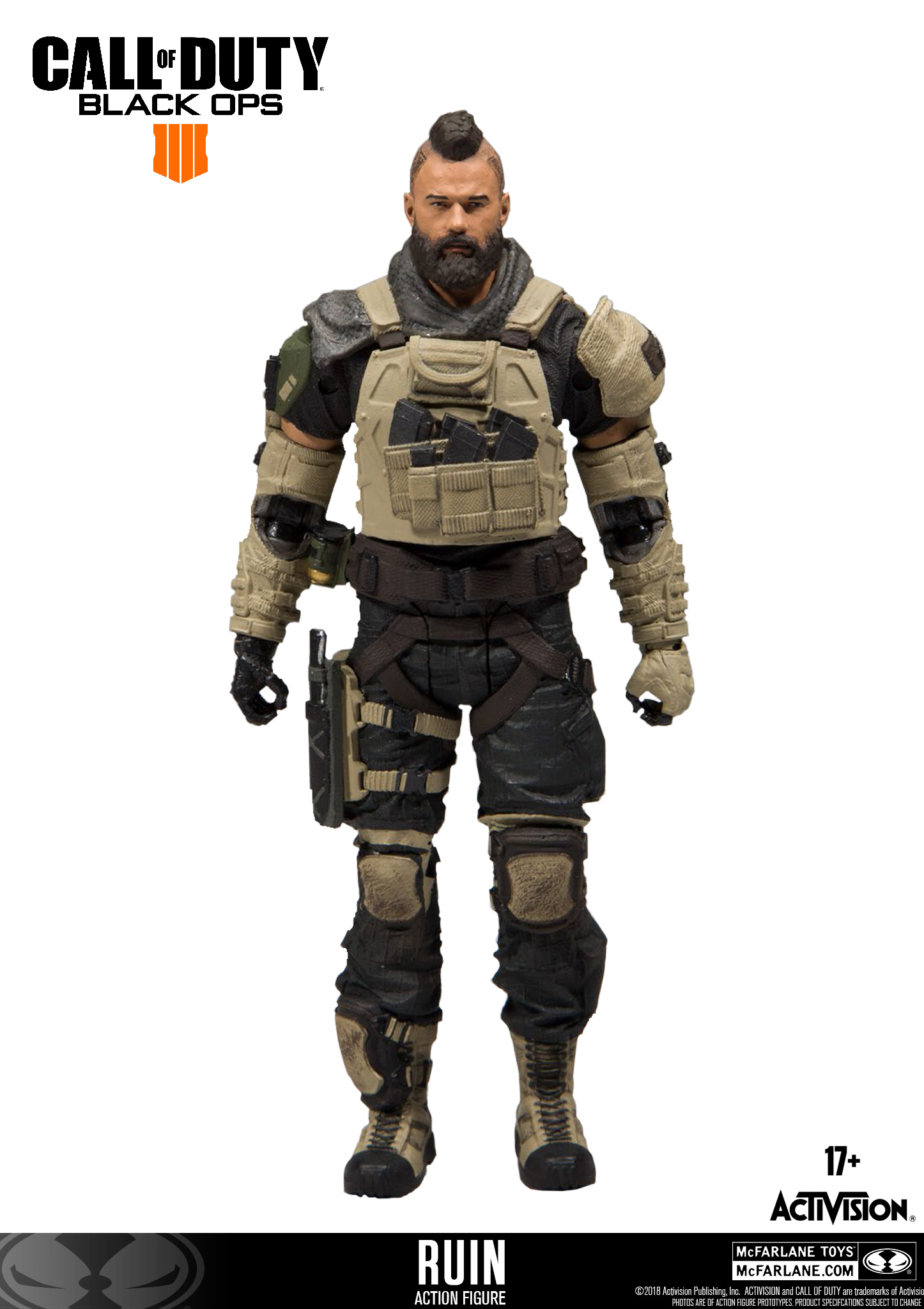 Donnie Quot Ruin Quot Walsh Figurine Call Of Duty Black Ops