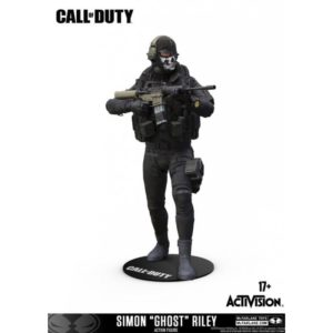 SIMON (GHOST) RILEY FIGURINE - CALL OF DUTY - Mc FARLANE TOYS - 18 CM – 787926104011 – kingdom-figurine.fr